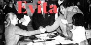 Evita trabalhando na CGT