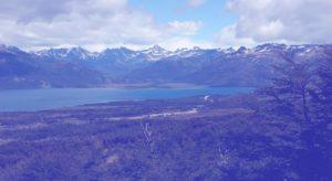 Filtro azul - lago Fagnano Huayo