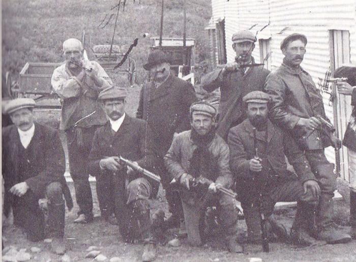 Matadores em Tierra del Fuego
